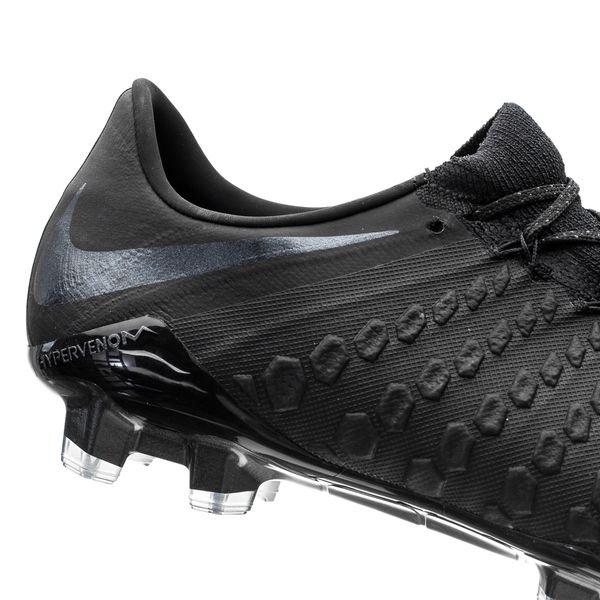 c1d8e6826 Nike Hypervenom 3 Elite FG Stealth Ops - Black | www.unisportstore.com