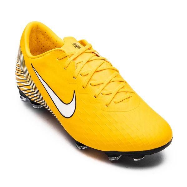 Nike Mercurial Vapor 12 Elite FG NJR Meu Jogo Pack GeelWitZwart Kinderen