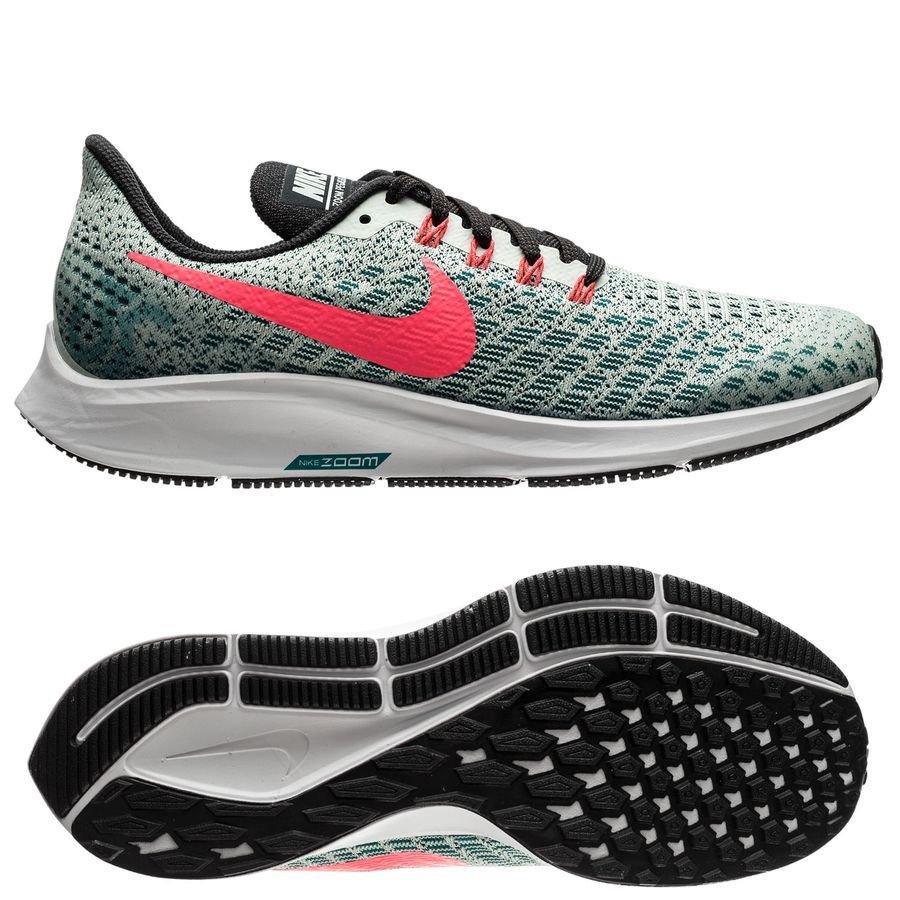 Nike Chaussures de Running Air Zoom Pegasus 35 - Gris/Rose Enfant