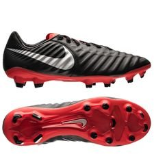 Nike Tiempo Legend 7 Pro FG Raised On Concrete - Zwart/Zilver/Rood