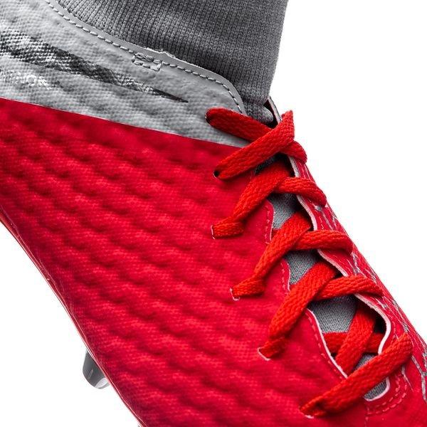 33b7a837 Nike Hypervenom 3 Academy DF AG-PRO Raised On Concrete - Rød/Grå Barn