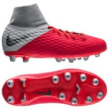 Nike Hypervenom 3 Academy DF AG-PRO Raised On Concrete - Light Crimson/Wolf Grey Kids