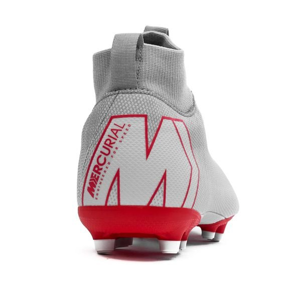 18c3869a56a6 Nike Mercurial Superfly 6 Academy MG Raised On Concrete - Wolf Grey/Light  Crimson Kids