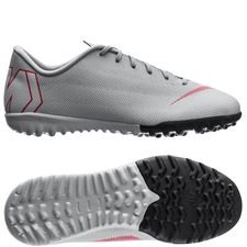 Nike Mercurial VaporX 12 Academy TF Raised On Concrete - Grijs/Rood Kinderen