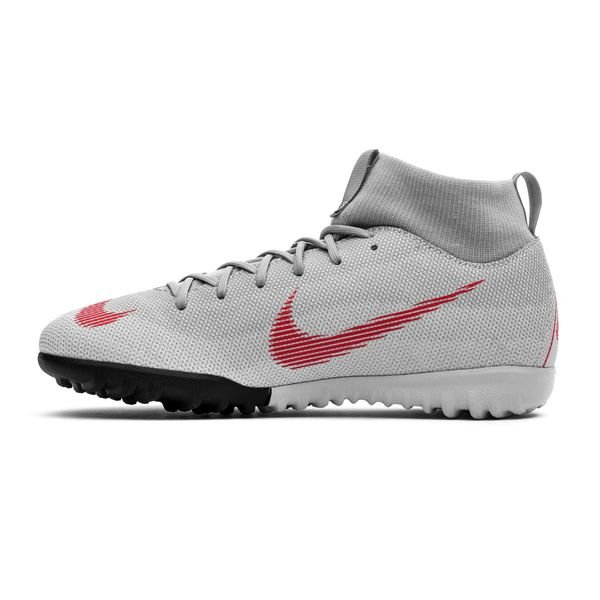 6d3b5de0069 Nike Mercurial Superfly 6 Academy TF Raised On Concrete - Wolf Grey Light  Crimson Kids