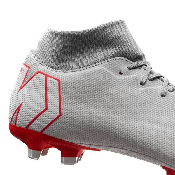 a94bd253bf65 Nike Mercurial Superfly 6 Academy MG Raised On Concrete - Wolf Grey/Light  Crimson