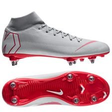 Nike Mercurial Superfly 6 Academy SG-PRO Raised On Concrete - Grijs/Rood