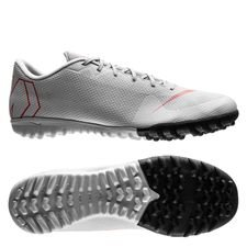 Nike Mercurial VaporX 12 Academy TF Raised On Concrete - Grijs/Rood