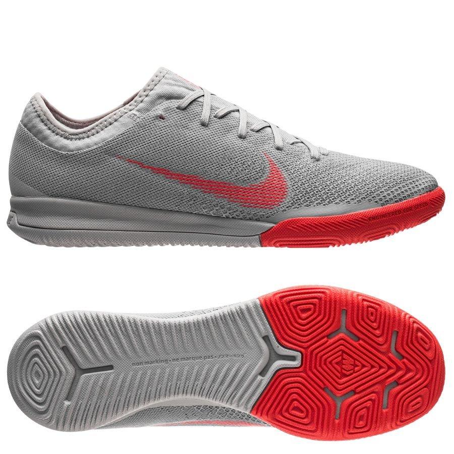 Nike Mercurial VaporX 12 Pro IC Raised On Concrete - Gris/Rouge