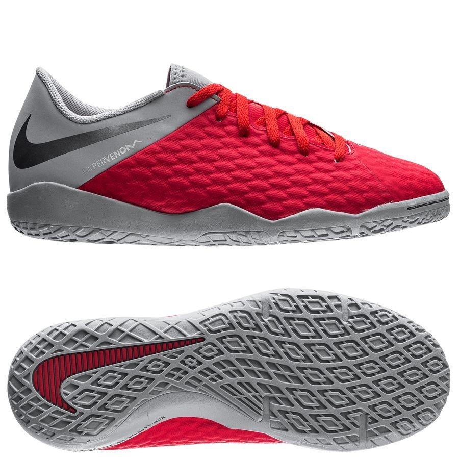 Nike Hypervenom 3 Academy IC Raised On Concrete - Rouge/Gris Enfant