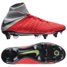 Nike Hypervenom 3 Elite DF SG-PRO Anti-Clog Raised On Concrete - Rood/Grijs