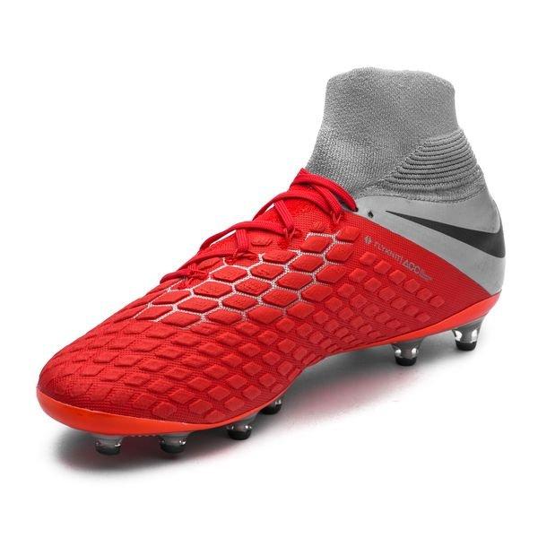 bcc495fc Nike Hypervenom 3 Elite DF AG-PRO Raised On Concrete - Light Crimson/Wolf