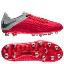 Nike Hypervenom 3 Academy AG-PRO Raised On Concrete - Light Crimson/Wolf Grey Kids