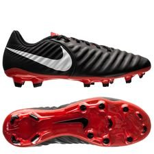 Nike Tiempo Legend 7 Academy FG Raised On Concrete - Zwart/Grijs/Rood