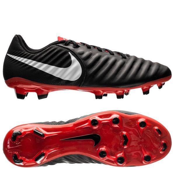 best website d90bb 0b06e Nike Tiempo Legend 7 Academy FG Raised On Concrete - Noir Gris Rouge 0