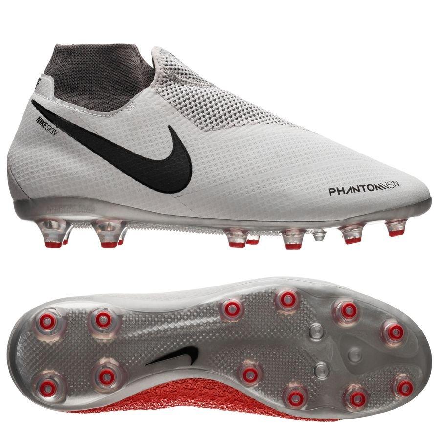 Nike Phantom Vision Pro DF AG-PRO Raised On Concrete - Gris/Rouge