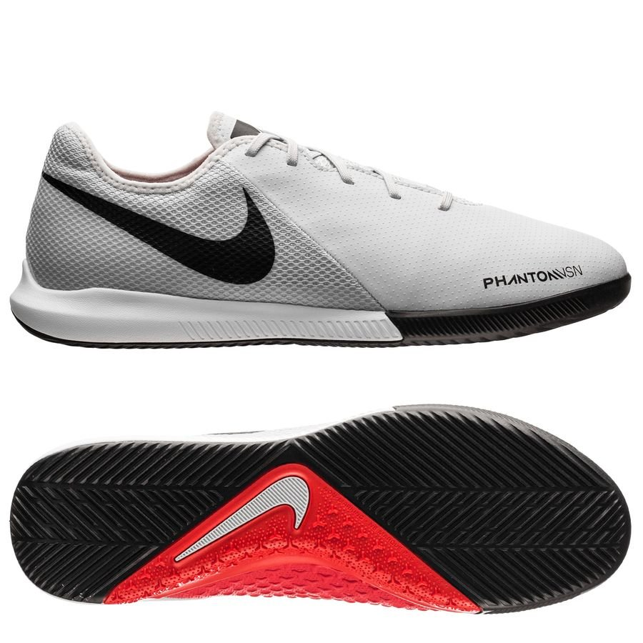 Nike Phantom Vision Academy IC Raised On Concrete - Gris/Rouge