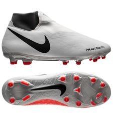 Nike Phantom Vision Academy DF MG Raised On Concrete - Grau/Rot