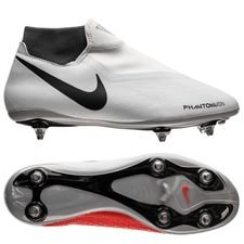 Nike Phantom Vision Academy DF SG-PRO Raised On Concrete - Grijs/Rood
