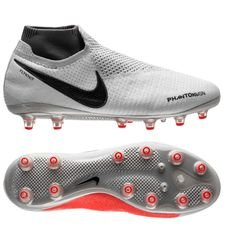 Nike Phantom Vision Elite DF AG-PRO Raised On Concrete - Pure Platinum/Black/Light Crimson