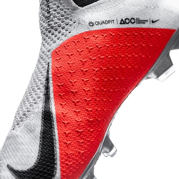 on sale 2c777 9dc16 Nike Phantom Vision Elite DF FG Raised On Concrete - Grå Svart Röd
