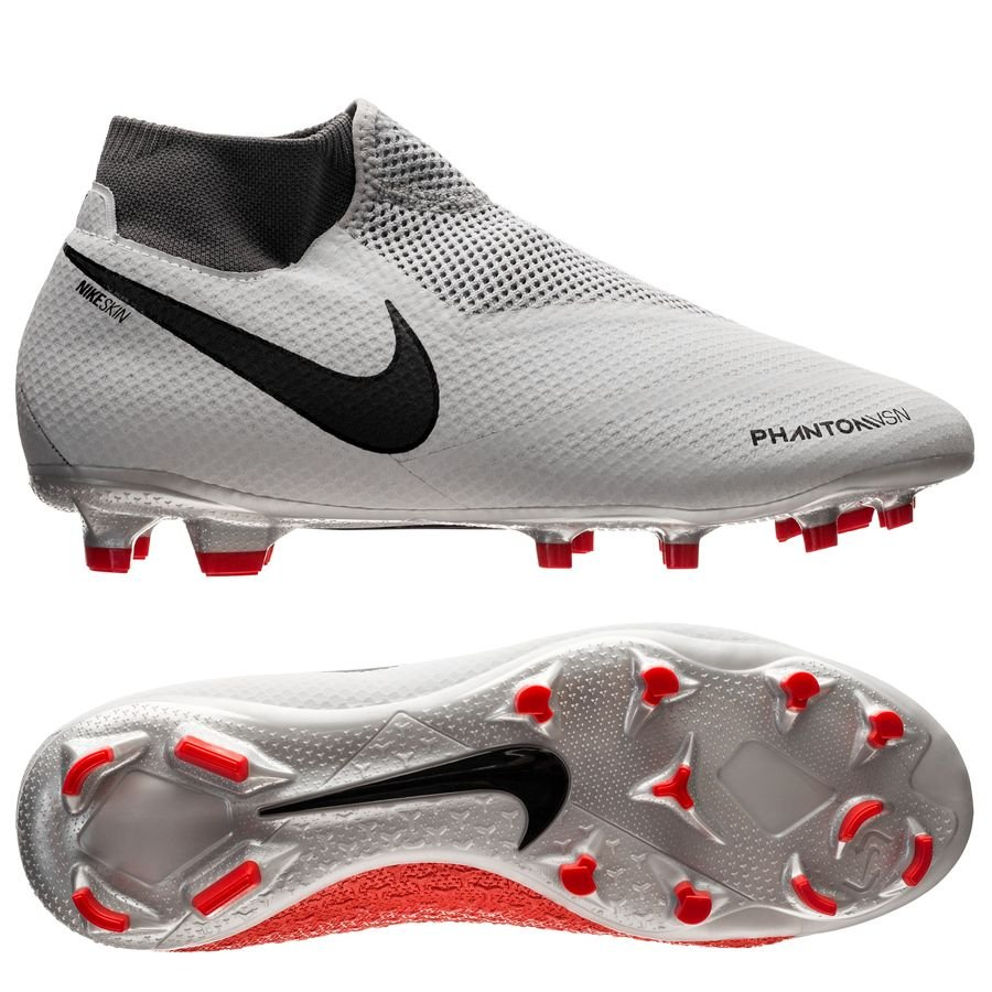 nike phantom vision pro df fg raised on concrete - pure platinum light  crimson ... 1cd9d957b54a7