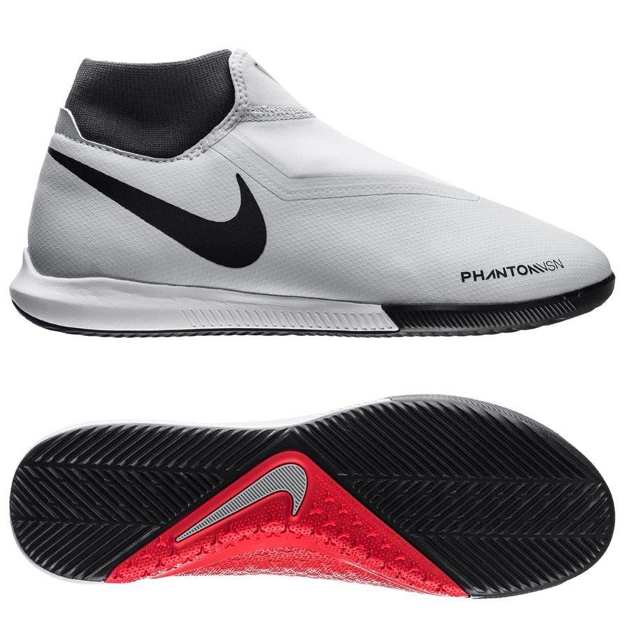 Nike Phantom Vision Academy DF IC Raised On Concrete - Gris/Rouge