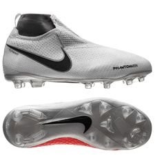 Nike Phantom Vision Elite DF MG Raised On Concrete - Pure Platinum/Light Crimson Kids