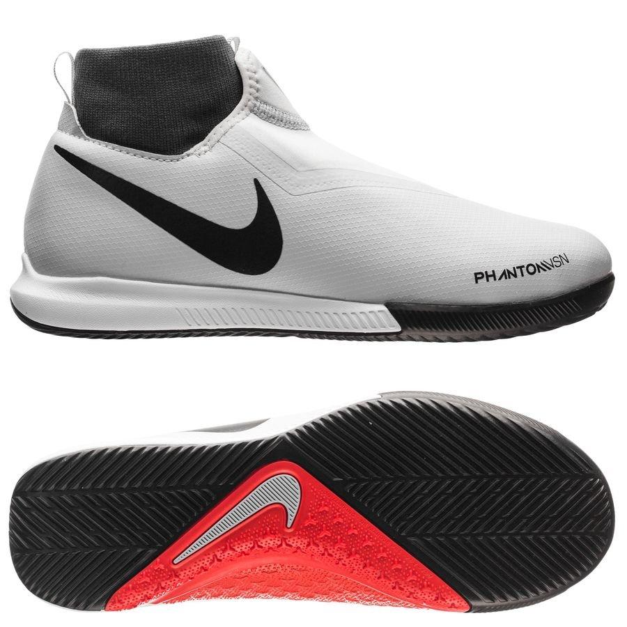 Nike Phantom Vision Academy DF IC Raised On Concrete - Gris/Rouge Enfant