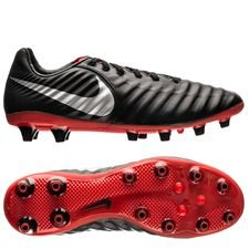 Nike Tiempo Legend 7 Pro AG-PRO Raised On Concrete - Black/Metallic Silver/Light Crimson