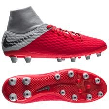 Nike Hypervenom 3 Academy DF AG-PRO Raised On Concrete - Rood/Grijs