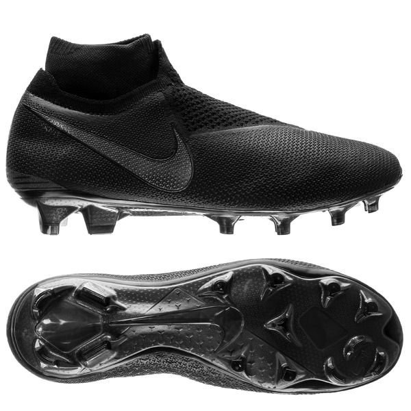 Nike Phantom Vision Elite DF FG - Sort