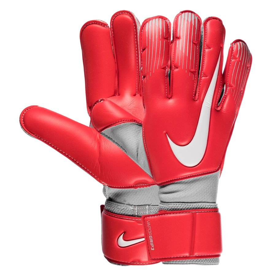 Nike Gants de Gardien Vapor Grip 3 Raised On Concrete - Rouge/Gris