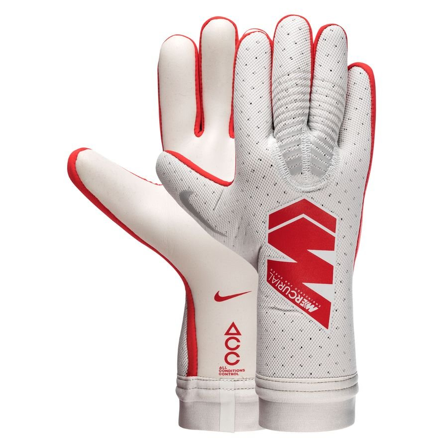 Nike Gants de Gardien Mercurial Touch Elite Raised On Concrete - Gris/Rouge