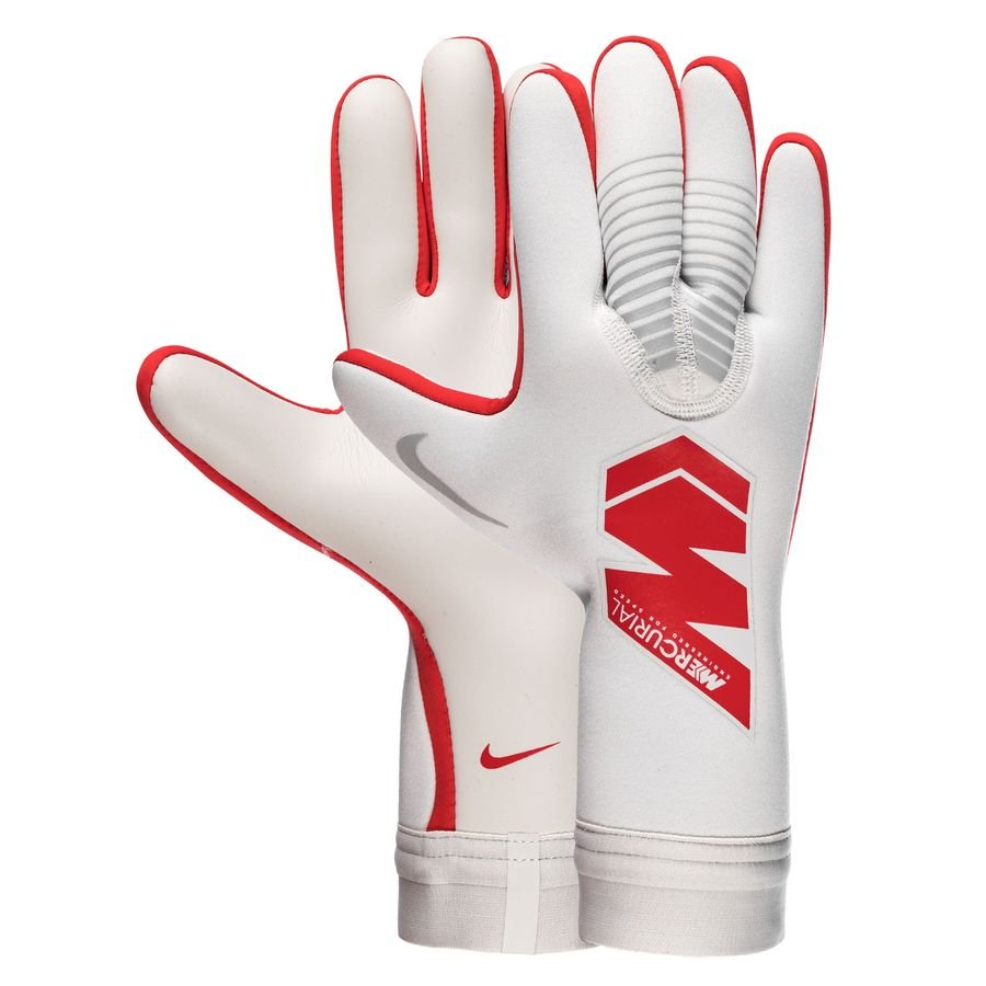 Nike Gants de Gardien Mercurial Touch Victory Raised On Concrete - Gris/Rouge