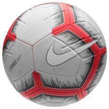 nike ballon strike - gris/rouge/blanc - ballon de foot