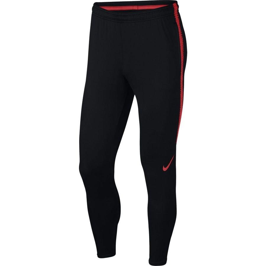 Nike Bas de Survêtement Dry Squad 18 Raised On Concrete - Noir/Rouge Enfant