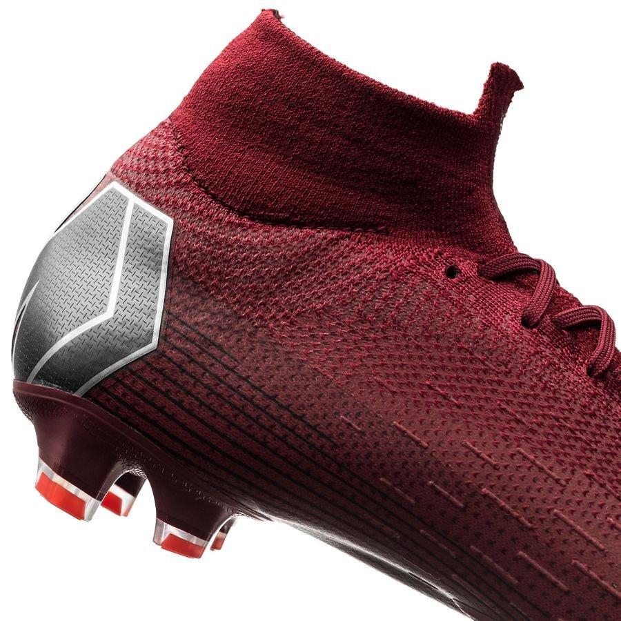 187f974f1d9a7 Nike Mercurial Superfly 6 Elite FG Rising Fire - Team Red Dark Grey Bright  Crimson