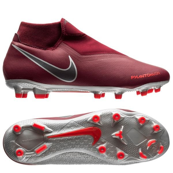 Nike Phantom Vision Academy DF MG Soccer Shoes (Rising Fire
