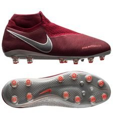 Nike Phantom Vision Elite DF AG-PRO Rising Fire - Bordeaux/Grijs/Rood