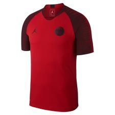 Paris Saint-Germain Training T-Shirt Strike VaporKnit CHL Jordan x PSG - Rot/Schwarz