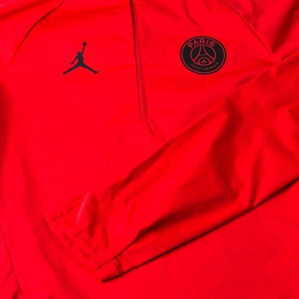 402cf853c1f Paris Saint Germain Training Shirt Squad Drill CHL Jordan x PSG - Red Black