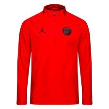 Paris Saint-Germain Trainingsshirt Squad Drill CHL Jordan x PSG - Rood/Zwart