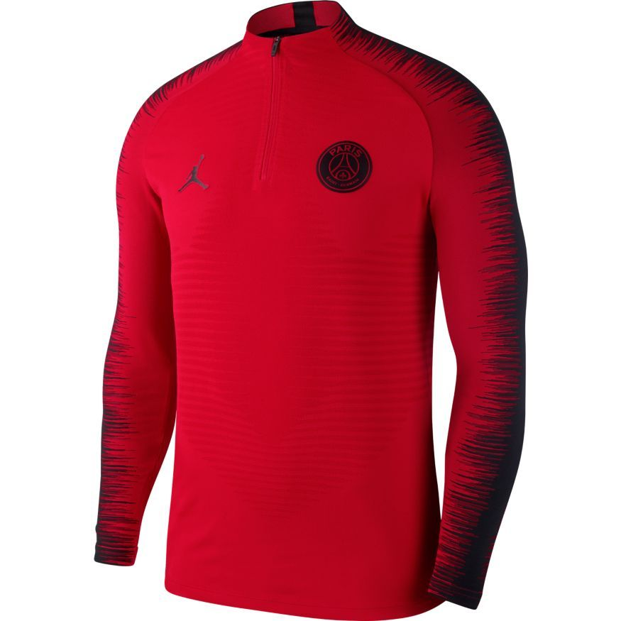 cheap for discount 24ed3 0ffca Paris Saint Germain Training Shirt Strike 2.0 VaporKnit CHL Jordan x PSG -  Red/Black