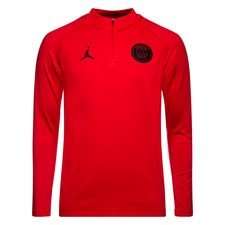 Paris Saint-Germain Trainingsshirt Dry Squad Drill CHL Jordan x PSG - Rood/Zwart