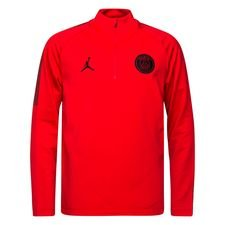 Paris Saint-Germain Trainingsshirt Dry Squad CHL Jordan x PSG - Rood Kinderen