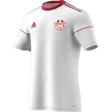 orient fodbold - hjemmebanetrøje hvid/rød - fodboldtrøjer