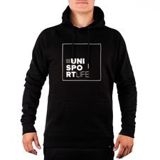 Unisportlife Roots Sweat à Capuche - Noir
