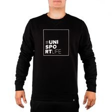 Unisportlife Roots Crewneck - Black