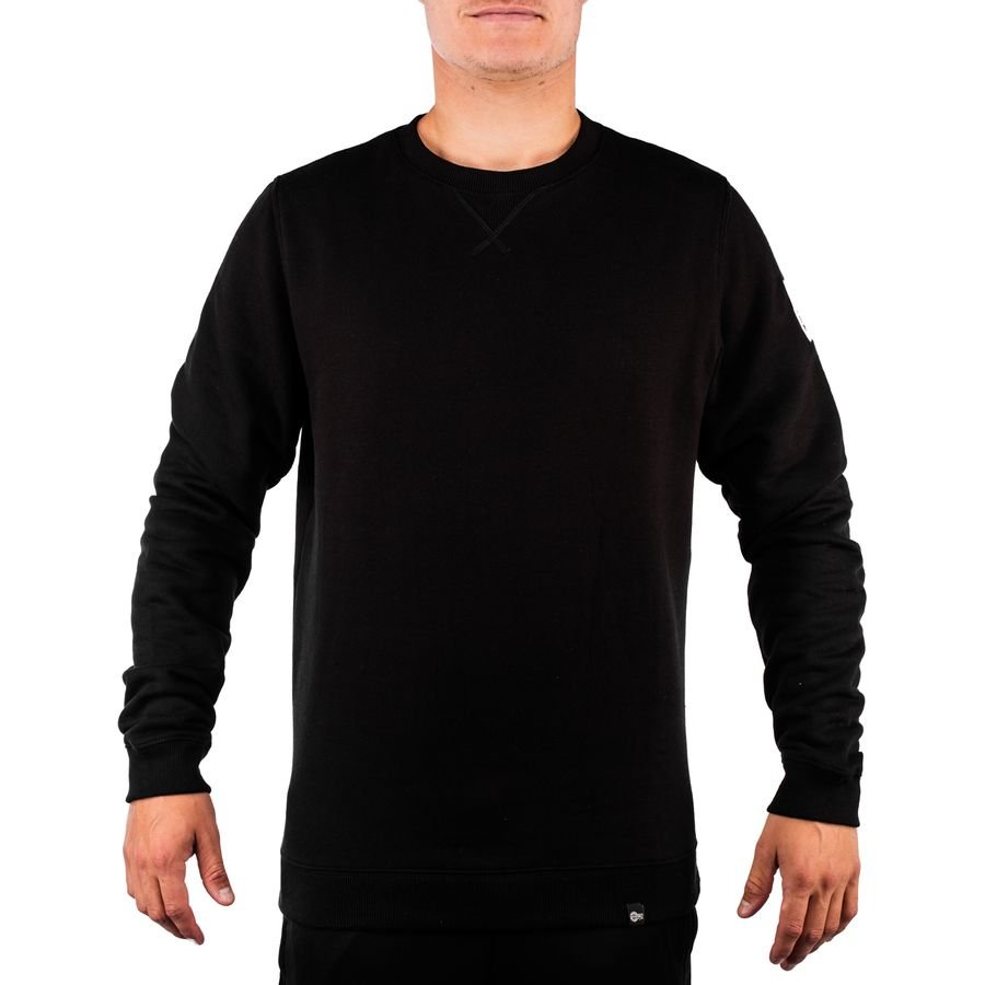 Unisportlife Roots Crewneck Patched - Sort thumbnail